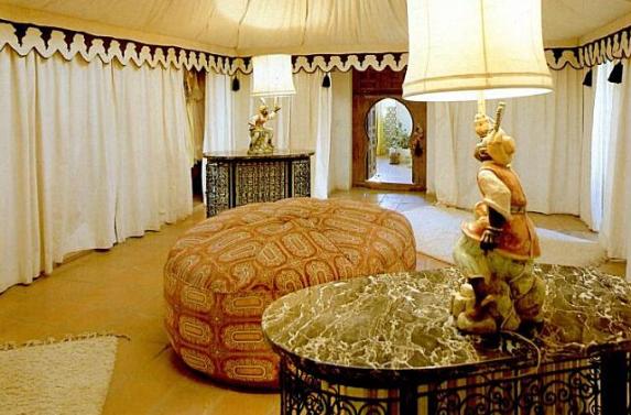 La principessa ruspoli, gli sloughi e marrakech