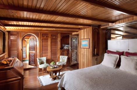 La sultana yacht lusso nei mari del marocco my for Ponte delle cabine di rapsodia dei mari 2